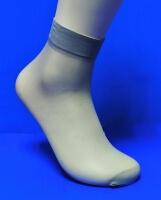 Alina ( AMAYI ) носки женские эластик серые №7 (в упаковке по 2 пары)