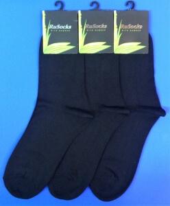 RuSocks носки мужские М-370 бамбук чёрные