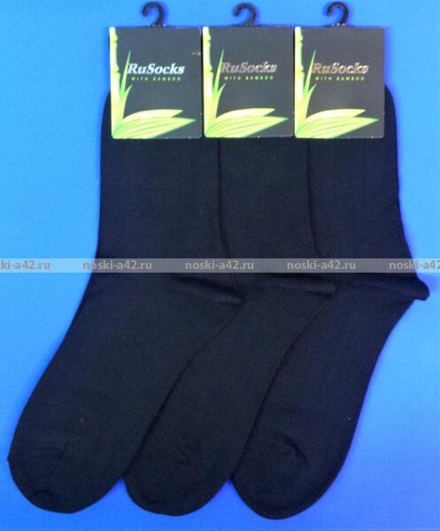 3675ad80ffb5d RuSocks носки мужские М-370 бамбук чёрные - купить оптом в Интернет ...