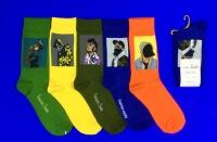 Nice Socks ЦВЕТНЫЕ НОСКИ универсальные на вешалке арт. 2203