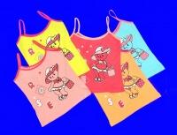 Детские майки для девочек Турция арт. 68301 (16541, 78717, 16556)