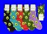 """Nice Socks  """"АВОКАДО"""" ЦВЕТНЫЕ носки женские на вешалке  арт. 1201 (1239, 1210)"""