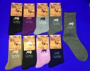 DLD носки женские внутри махра верблюжья шерсть