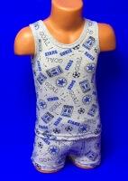 Комплект майка + трусы-шорты для мальчиков арт. КК 004