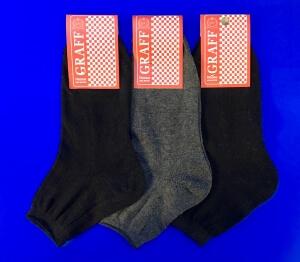 Граф носки подростковые Д-11 хлопок 100% серые