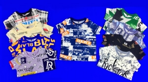 MUXSI KIDS футболки подростковые с НАДПИСЯМИ на мальчиков (9-12)