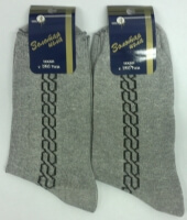 Золотая игла носки мужские с-104 меланж