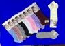Носки женские укороченные ажурные