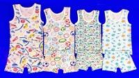 Комплект детский для мальчиков AMOTEKS (Россия) цветной (майка + БОКСЕРЫ)