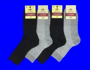 Легион носки мужские СЕТКА черные