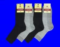Легион носки мужские СЕТКА серые