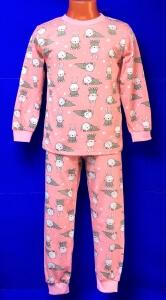 Пижамы детские и подростковые AMOTEKS (Россия) 100% хлопок на девочек