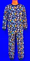 Пижамы ТЕПЛЫЕ футер-начес детские и подростковые AMOTEKS (Россия) 100% хлопок на мальчиков