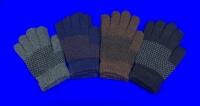 Фламинго перчатки с начесом АССОРТИ ТЕМНОЕ женские, подростковые С РИСУНКОМ арт. MS-0111