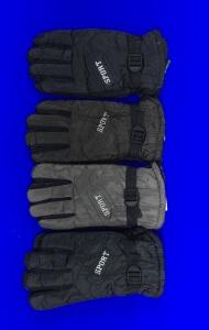 Перчатки мужские болоневые СПОРТ внутри с мехом арт. В999