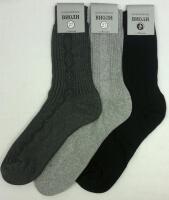 Виоли носки мужские С-220 светло-серые