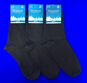 Сенатор носки мужские А-7 тонкая шерсть