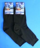 Пирамида носки мужские М-011 Зимний стиль чёрные