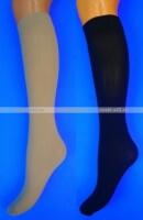 Марина гольфы женские эластик 30 den чёрные