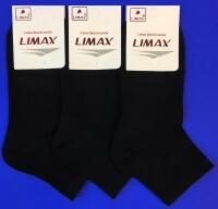 LIMAX носки укороченные женские чёрные