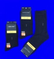 AMIGOBS носки мужские черные арт А 502