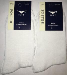 FUTE носки подростковые белые