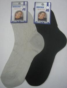 Заречье носки мужские с-156 сетка серые