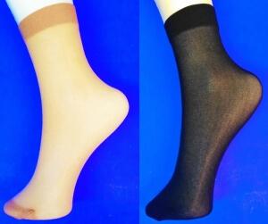 Крабро носки женские эластик 40 den бежевые Miss