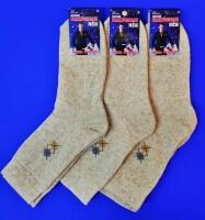 Ростекс носки мужские Л-21-1-М лён внутри махра