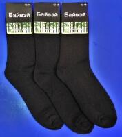 Байвей носки мужские внутри махра бамбук
