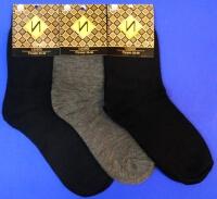 Носки подростковые однотонные
