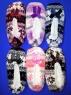 "Носки-тапочки женские внутри с мехом ""Снежинки"""