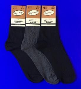 Пирамида носки мужские М-10 черные
