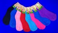 Травка  носки женские однотонные