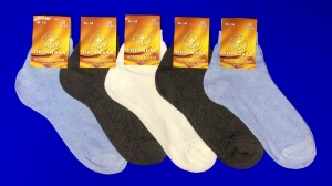 Пирамида носки женские М-14 хлопок гладкие