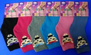 BFL носки детские внутри махра на девочек