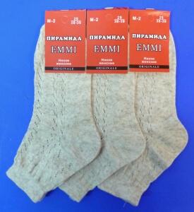 Пирамида носки женские М-2 лен