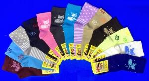 ЮстаТекс носки подростковые 3с20 хлопок на девочек