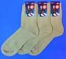 Ростекс (Рус-текс) носки мужские сетка К-21 бежевые