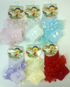 Байвей носки детские с рюшками ассорти
