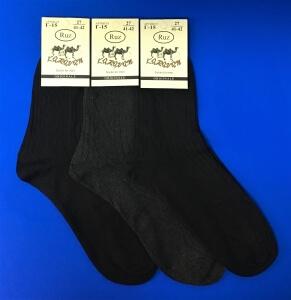 Караван носки мужские Г-15 черные