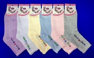 Носки женские ажурные