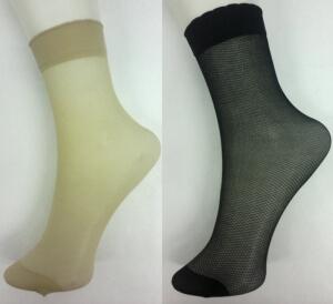 Носки женские эластик мелкая сетка