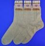 Сенатор носки мужские сетка светло-серые